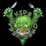 Vegan-Kids-Power black